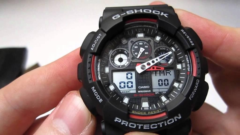 основной мужской часы g shock ga 100 1a4 средства, которые имеют